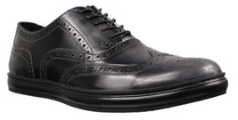 Mens Kenneth Cole New York Grey/Black Brand Sneaker D [KMU8002XL 020] - $104.99