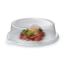 9 Inch Dome PET Lid with 2 1/2 Inch Hight/Case of 120 - $122.45 CAD