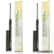 Clinique X2 High Impact Automatic Kajal Eyeliner Blackened Green Black F... - $22.72