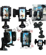 IN CAR MOBILE PHONE SAT NAV GPS HOLDER WITH LOCKING SUCTION MOUNT CELL C... - $6.39