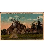 VINTAGE  POSTCARD-REAR VIEW OF COL.GEORGE DAVENPORT HOME,ROCK ISLAND,IL ... - $3.68