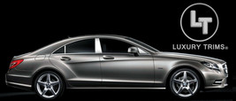 Mercedes CLS W218 Stainless Chrome Pillar Posts by Luxury Trims 2012-201... - $91.08