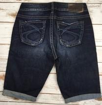 Silver J EAN S Shorts High Rise Waisted Natsuki Stretch Denim Jean Shorts 28 - $19.97