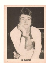 Bay City Rollers Les Mckeown teen magazine pinup clipping BCR 1970's Shi... - $2.00