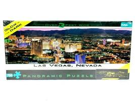 Las Vegas Glow In The Dark Panoramic Puzzle 750 Pcs Buffalo Games Brand New - $23.20