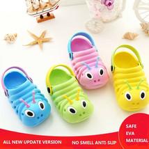 Baby Boys Girls Sandals Baby Summer Beach Shoes Plastic Caterpillar Baby... - $8.99+