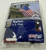 3'x5' Betsy Flags United States Flags Brass Grommets Nylon Sewn Embroidered SEAL image 3