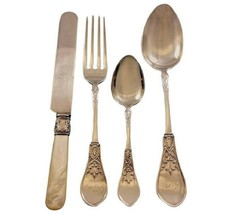 Gem by Schulz and Fischer Sterling Silver Flatware Set 36 pieces California - $4,350.00