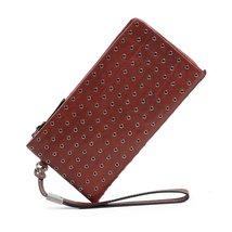 Calla Leather Clutch - $128.00