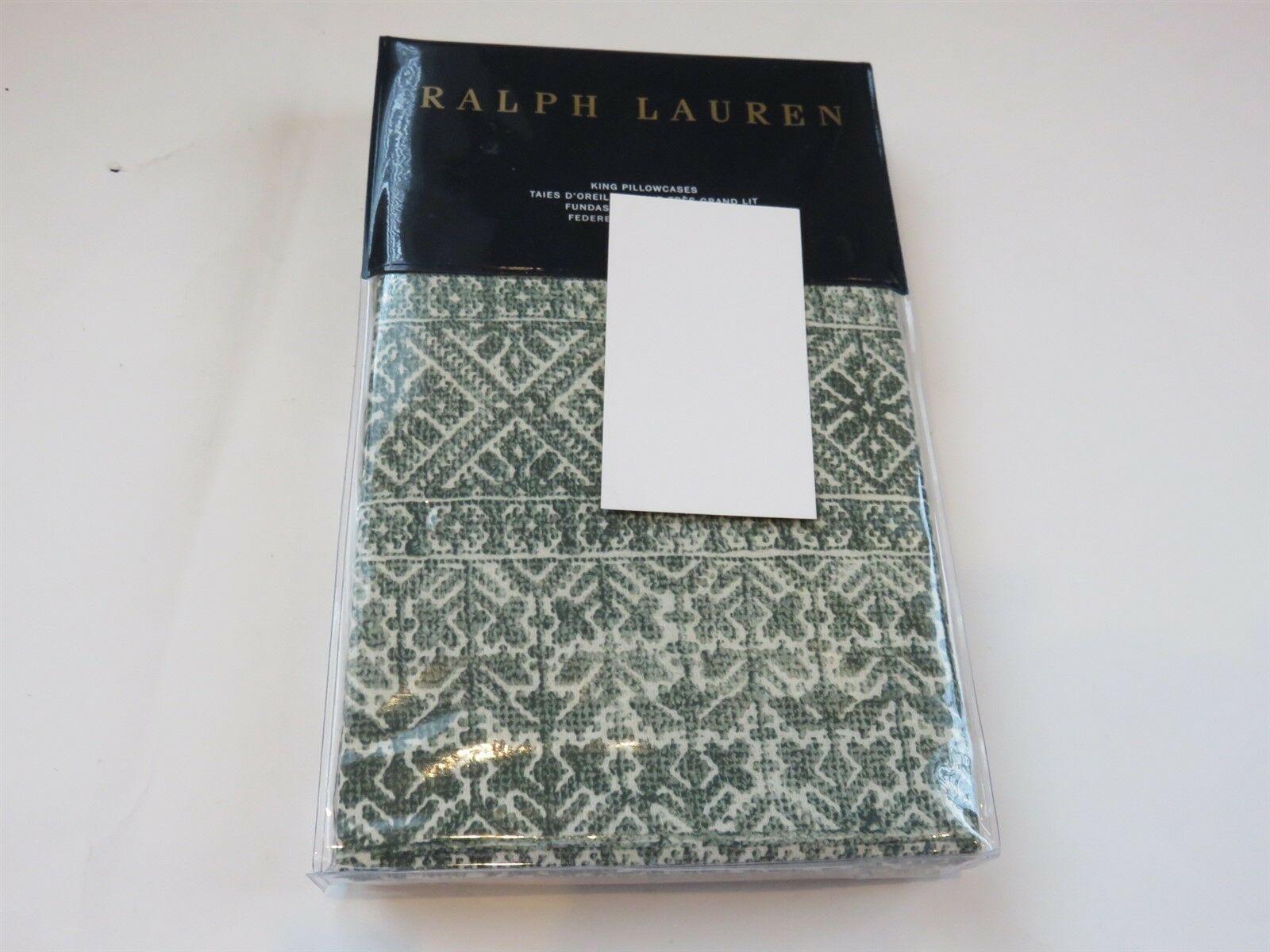 Ralph Lauren Notting Hill Eaton 4P King Sheet set