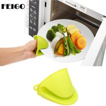 FEIGO 2Pcs Silicone Gloves Cake Bakeware Heat Resistant Oven Glove Short... - ₨1,492.19 INR