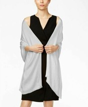 INC International Concepts Gemstone Pashmina Wrap Shawl Hijab, Silver - $15.84