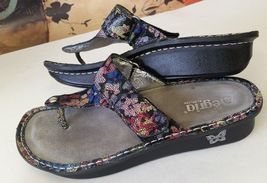 EU 10 Color Carina Shoes Thong 5 ti size Sandals Womens Mul 41 M Alegria US qRwZf6