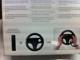 Lot (2) Nintendo Wii Wheel Game Controller Box Steering Mario Cart Racing image 4
