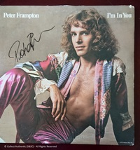Peter Frampton Autographed ''I'm In You'' Record Album - $110.00