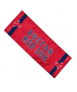 """BOSTON RED SOX 12""""X30"""" COOLING TOWEL NEW & OFFICIALLY LICENSED - $9.70"""