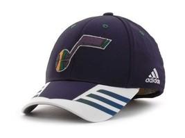 Utah Jazz Adidas Stretch Fit NBA Basketball Center Court 11 Cap Hat - $21.95