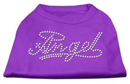 Angel Rhinestud Shirt Purple XXL (18) - $12.98