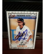 Sean Miller Frederick Keys Baltimore Orioles Autographed In person on card - $3.95