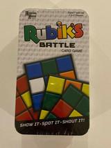 New!  Rubiks Battle Card Game Tin Sealed - $11.29