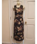 New in pkg newport news  $89 tropical floral  long maxi sleeveless dress... - $39.59