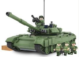 456 pcs Military Battle 2016 Tank Model Toys Russia Marine Blocks Fit Lego - $40.99
