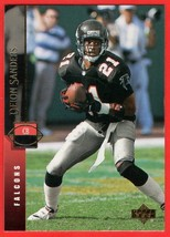 1994 Upper Deck #302 Deion Sanders HOF football card - $0.01