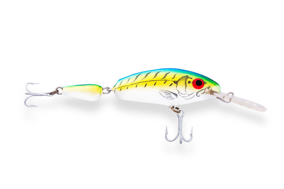 Cast//Troll lure for Trout//Salmon//Walley//BASS//Muskie Ugly Duckling 7F Jointed DR