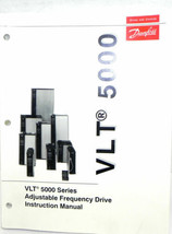DANFOSS VLT 5000 SERIES ADJUSTABLE FREQUENCY DRIVE INSTRUCTION MANUAL