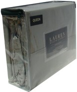 Ralph Lauren Dunham Moss Green-Gray Sheet Set, Queen - $86.00