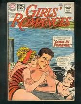 Girls' Romances #84 1962-BATHING SUIT-LOVE TRIANGLE-DC- VG- - $30.26