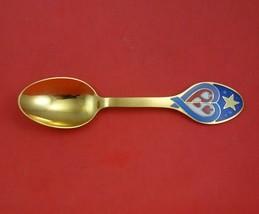 Christmas Spoon by A. Michelsen Danish Sterling Silver Teaspoon 2003 Ver... - $503.91