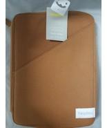 "heyday™ Travel Tech Kit iPad Tablet Folio 10.5"" Tan Canvas - $29.69"