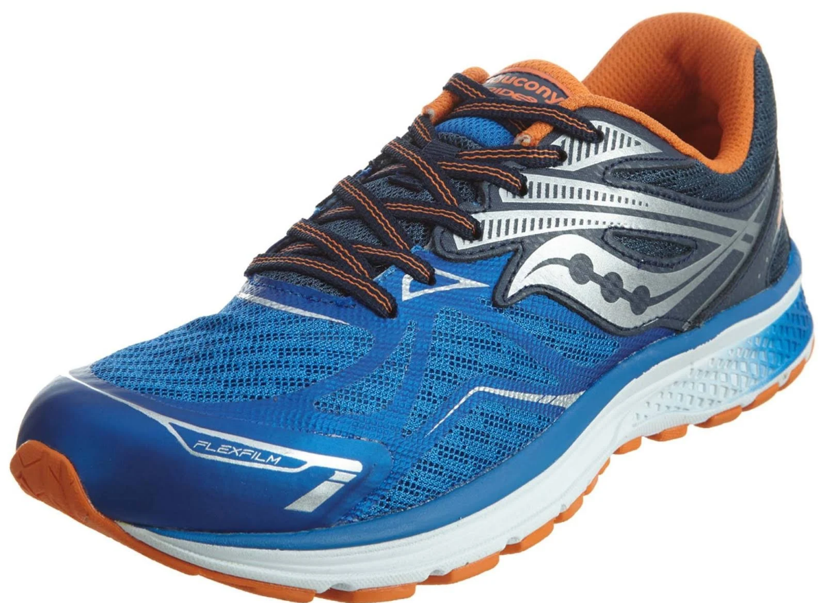 Saucony Ride 9 US 3 M (Y) EU 35 Boy's Youth Kid's Running Shoes Blue S1400-5