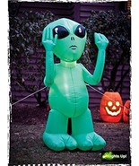 Inflatable Green Alien - $63.64