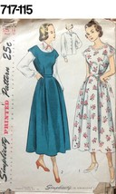 VTG Sewing Pattern Simplicity #2852 Size 14 Bust 32 Maternity Dress, Jum... - $19.97