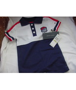 Tommy Hilfiger 85 Racing Navy Red White Onesie Outfit 3-6 months, NWT - $18.00