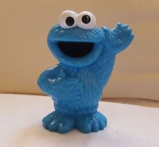 2013 Hasbro Sesame Street Character Cookie Monster, pre-owned, cake topp... - $7.21