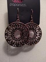 Malibu Musical Copper Earrings - $5.00