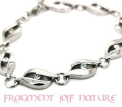 Glow Up Beauty Spell Bracelet !!! Zirconia / with extension chain. - $44.72