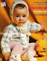 Baby Set Columbia Minerva 1973 4 Outfits to Knit in Sizes 6M and 1 Year ... - $5.99