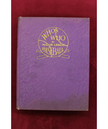 1933 WHO'S WHO IN BASEBALL Purple Hard Cover Edition 544 pages NRMT+ - $395.01