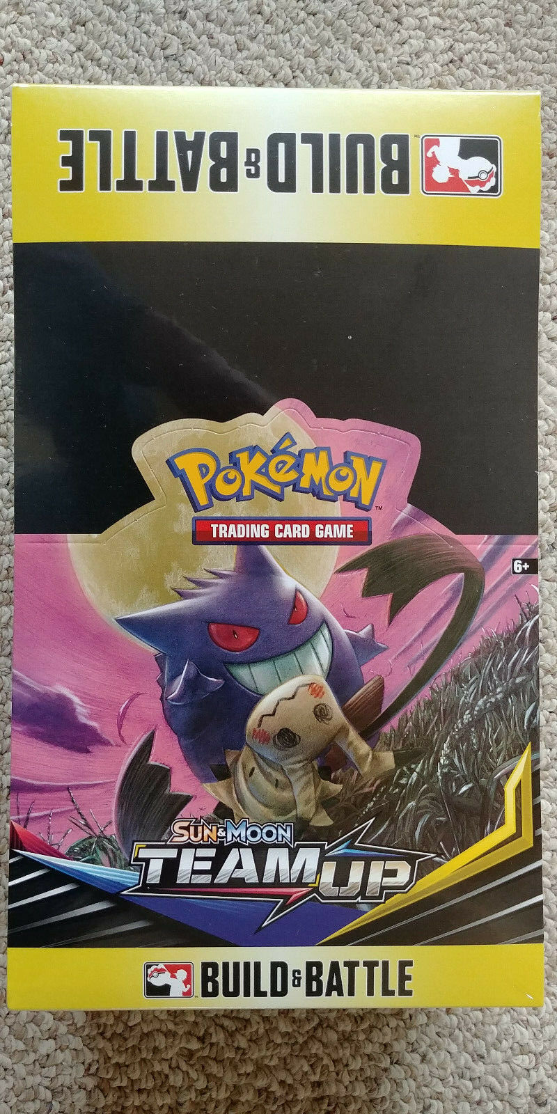Pokemon TCG Team Up Build and Battle Box Case of 10 Prerelease Kits Sun & Moon