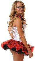 Teacher Nerd Love Roleplay Deluxe Corset Costume Set image 2