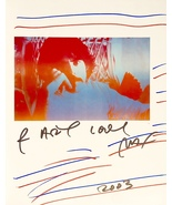 PETER MAX Autographed THE ART OF PETER MAX HARDCOVER BOOK FIRST EDITION w/COA - $179.99