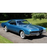 1966 Buick Riviera blue 24 X 36 inch poster  - $18.99