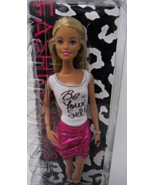 Barbie Fashionistas Doll, Pink Skirt and Be Yourself Shirt  - $29.99