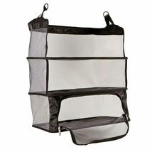 Travelon Deluxe Verpackbar Aufhängbare Regale für Gepäck Verpackung Schwarz - $39.38