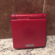 Nintendo Game Boy Advance SP Handheld System - Flame Red New Battery! - $53.20