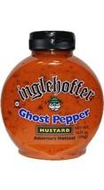 Inglehoffer Ghost Pepper Mustard, 10.25 Ounce Pack of 6